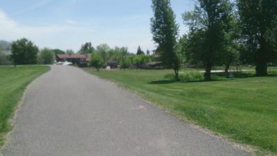 Harrisville City Park, Main course, Hole 3 Tee pad