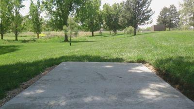 Harrisville City Park, Main course, Hole 6 Tee pad