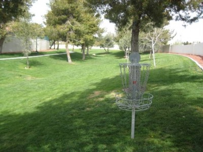 Peccole Ranch, Main course, Hole 9 Reverse (back up the fairway)