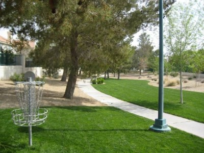 Peccole Ranch, Main course, Hole 17 Reverse (back up the fairway)