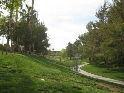 Peccole Ranch, Main course, Hole 1 Reverse (back up the fairway)