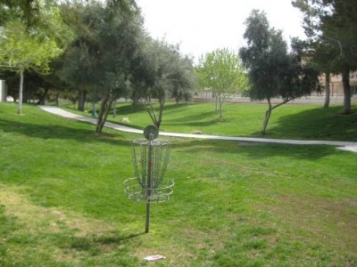 Peccole Ranch, Main course, Hole 8 Reverse (back up the fairway)