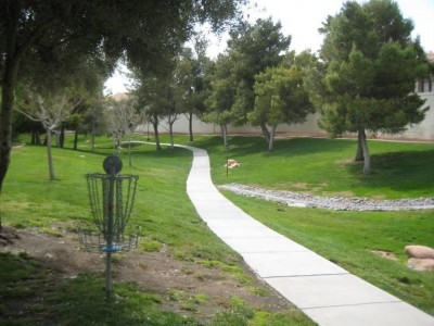 Peccole Ranch, Main course, Hole 6 Reverse (back up the fairway)