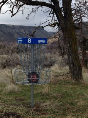 Lucky Peak State Park, Lydle Gulch Blue Course, Hole 8 Putt