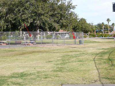 Sunset Park, Main course, Hole 9 Tee pad