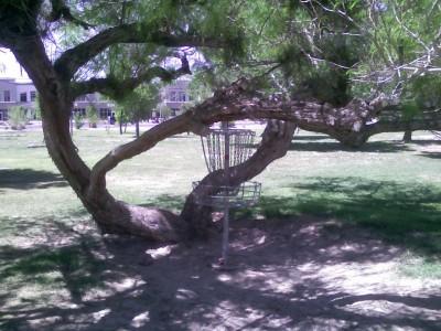 Sunset Park, Main course, Hole 24 Putt