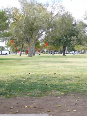 Sunset Park, Main course, Hole 5 Tee pad