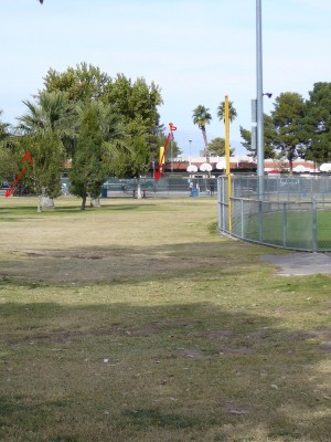 Sunset Park, Main course, Hole 8 Tee pad