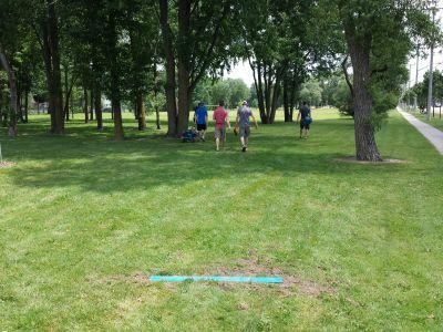 Marsh Pond Park, Main course, Hole 7 Long tee pad