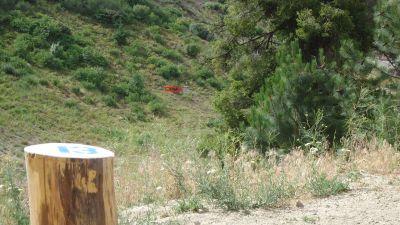 Bogus Basin, Simplot Lodge, Hole 13 Tee pad