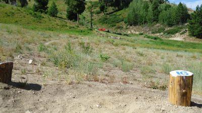 Bogus Basin, Simplot Lodge, Hole 16 Tee pad
