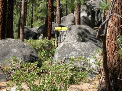 Zephyr Cove Park, Main course, Hole 1 Midrange approach