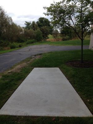 Kent State University Rec Center, Rec n' Roll, Hole 2 Tee pad