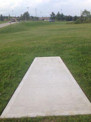 Kent State University Rec Center, Rec n' Roll, Hole 3 Tee pad