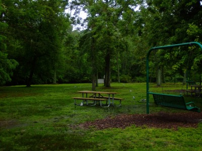 Cape May County Park/Zoo, Main course, Hole 3 Tee pad