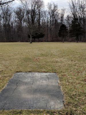 Harry Dunham Park, Main course, Hole 8 Long tee pad