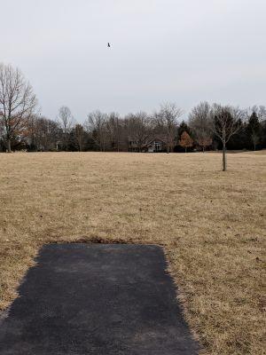 Harry Dunham Park, Main course, Hole 1 Long tee pad