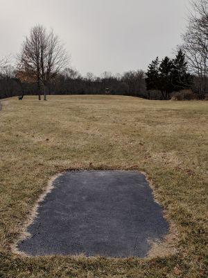 Harry Dunham Park, Main course, Hole 5 Long tee pad
