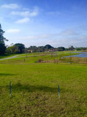 Commons Park, Main course, Hole 7 Tee pad
