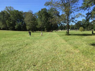 Veterans Park, Main course, Hole 6