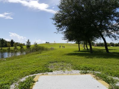 Estero DGC, Main course, Hole 15 Middle tee pad