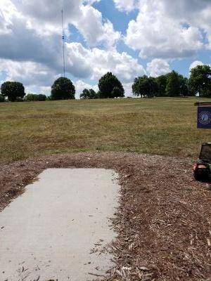 Frank Liske Park, Main course, Hole 18 Tee pad