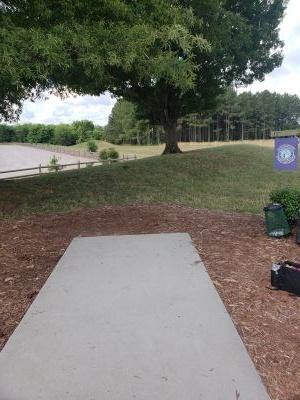 Frank Liske Park, Main course, Hole 5 Tee pad
