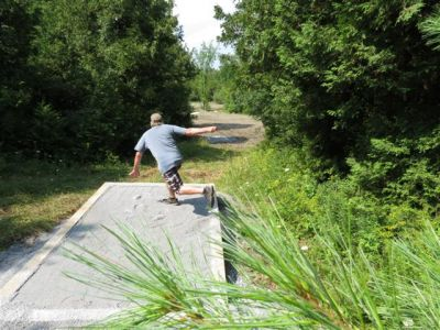 Parc Regional St-Bernard, , Hole 15 Long tee pad