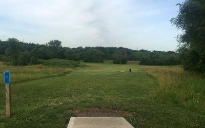 Fairfield Park, Gold course, Hole 4 Tee pad