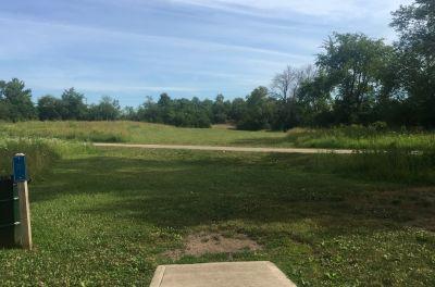 Fairfield Park, Gold course, Hole 5 Tee pad