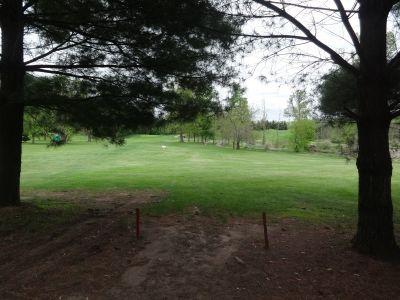 Pine Hills DGC, North course, Hole 7 Tee pad