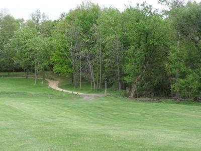 Pine Hills DGC, North course, Hole 10 Midrange approach