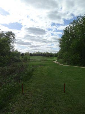Pine Hills DGC, North course, Hole 13 Tee pad