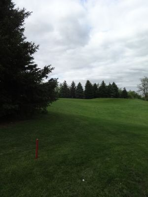 Pine Hills DGC, North course, Hole 15 Tee pad