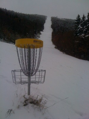 Sugarbush, Peak Course, Hole 6 Putt