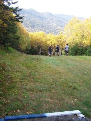 Sugarbush, Peak Course, Hole 3 Tee pad