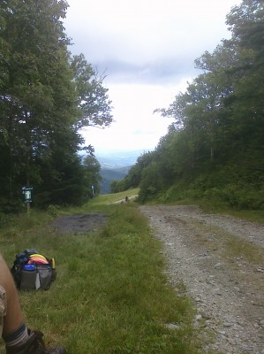 Sugarbush, Peak Course, Hole 5 Middle tee pad