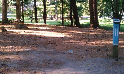 Town Park (Amesbury Pines), Main course, Hole 11 Long tee pad