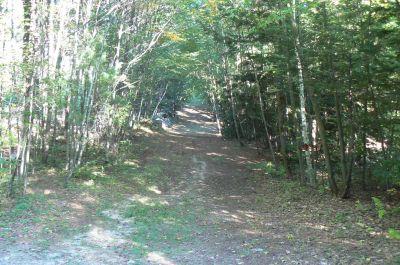 Flatrock, Main course, Hole 3 Long approach