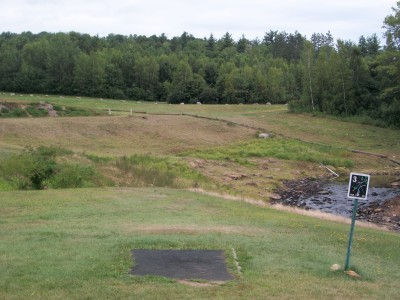 Barre Falls, Main course, Hole 3 Tee pad