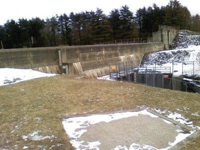 Buffumville Lake, Main course, Hole 19 Long tee pad