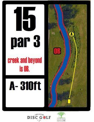 Laurelain Park, Main course, Hole 15