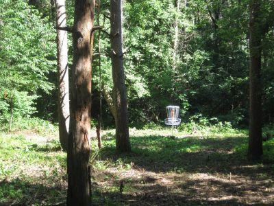 Veteran Hills Disc Golf Course - Viroqua VFW, Main course, Hole 3 Putt