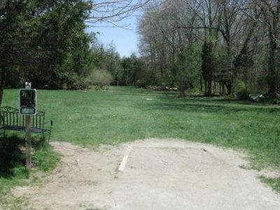 Borderland State Park, Main course, Hole 7 Tee pad