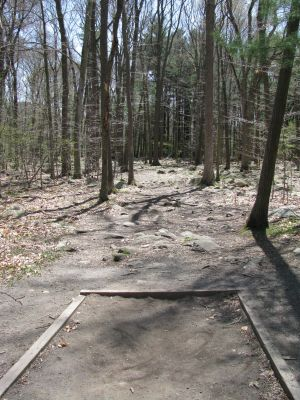 Borderland State Park, Main course, Hole 5 Tee pad