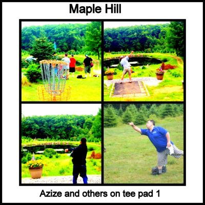 Maple Hill, Whites, Hole 1 Long tee pad