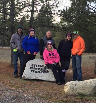 Farragut State Park, Little Black Bear, Hole 1 Tee pad