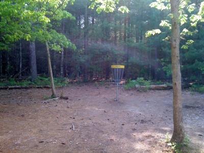 Riverhead Field, Main course, Hole 7 Short approach