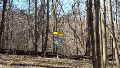 Persimmon RidgePark, Kiwanis DGC, Hole 11 Short approach