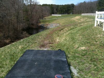 Pye Brook Park, Main course, Hole 11 Tee pad